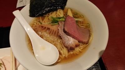 「鶏煮干し塩SOBA 850円」@銀座 篝 ラゾーナ川崎プラザ店の写真