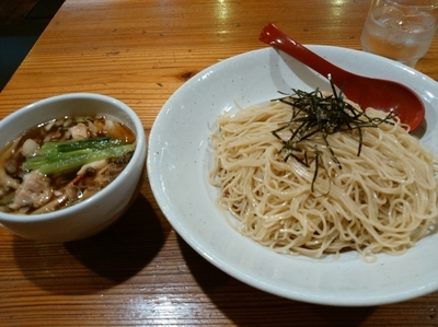 「〖限定〗きのこ汁のつけ麺780円(細麺)」@武藤製麺所の写真