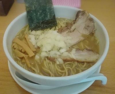 「煮干しそば 中 750円」@煮干そば とみ田の写真
