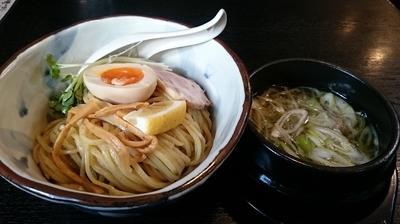 「塩つけ麺:大盛り」@らぁ麺屋 ありがたいがの写真
