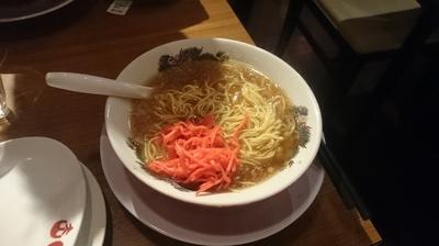 「肉醤油ラーメン + ミニ焼飯セット」@肉醤油ラーメン 肉太郎 梅田第3ビル店の写真