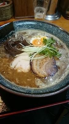 「魚介ラーメン(鶏白湯魚介)」@麺処 雄の写真