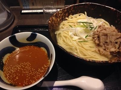 「牛しゃぶ味噌カレーつけ麺【960円】」@三ツ矢堂製麺 大森店の写真