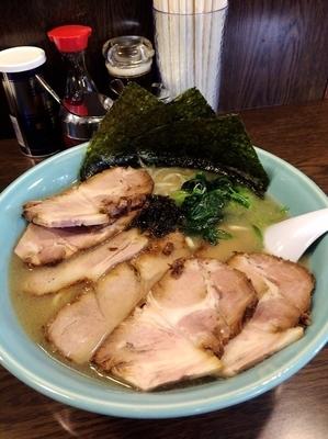 「塩チャーシュー麺大盛1200円、硬め」@らーめん晴れる屋の写真