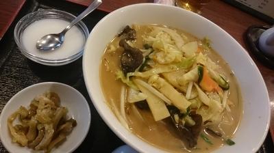 「ランチセット(800円)」@香港菜館の写真