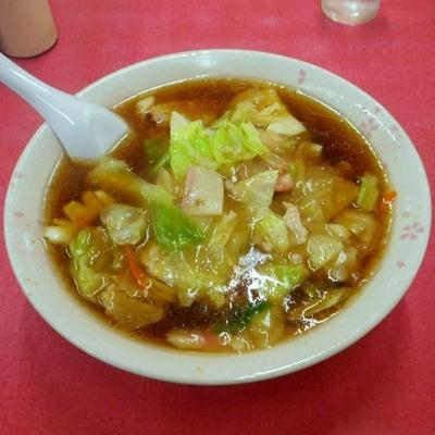 「辨麺(ばんめん 620円)」@中華料理 萬福の写真