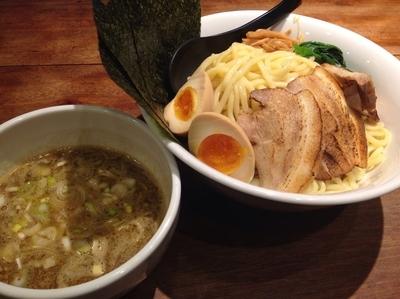 「特製つけ麺(特盛)」@麺屋 みちしるべ つつじヶ丘店の写真
