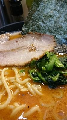 「辛味噌豚骨800円」@横浜家系 ぱるぷん亭の写真