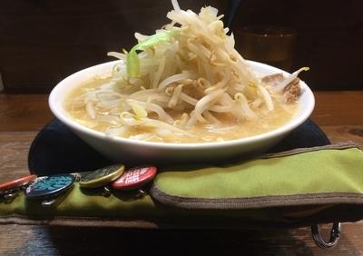 「白もたまらんらーめん(味噌)」@好麺 たまらんの写真