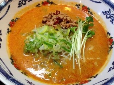「タンタン麺 ¥730」@麺屋 かりん亭の写真