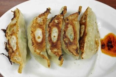 「野菜たっぷり焼餃子5個220円」@ちょっと美味しい中華食堂 大門の写真