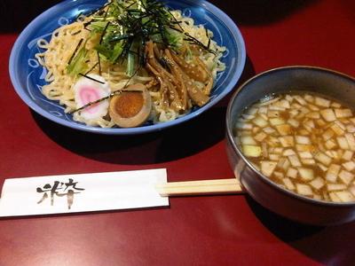 「うなぎつけ麺大盛(930円)」@八べえの写真