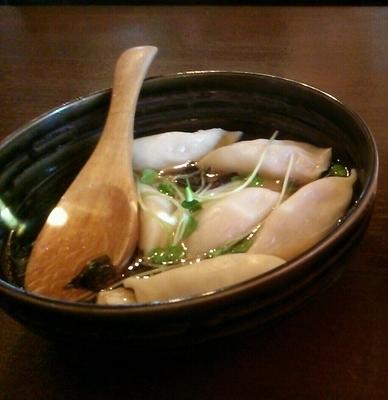 「薬膳 スープ餃子 530円」@和の中の写真