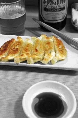 「焼餃子6個300円」@麺処 福吉 極の写真