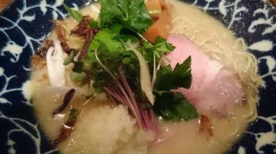 「鶏そば 800円」@鶏そば HIBARIの写真