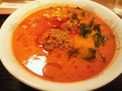 「担々麺 865円」@横浜大唐の写真