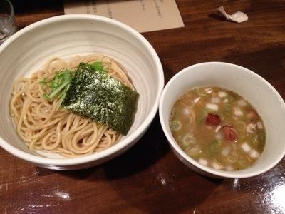 「濃厚出汁つけ麺」@日本橋 製麺庵 なな蓮の写真