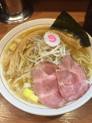 「【限定】味噌煮干しそば」@煮干中華そば 鈴蘭 中野店の写真