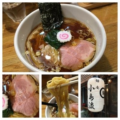 「年越しラーメン 鰹節と鶏の中華そば  500円」@麺庵 小島流の写真