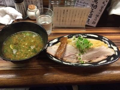 「トリ塩つけ麺」@ラーメン ロケットキッチンの写真