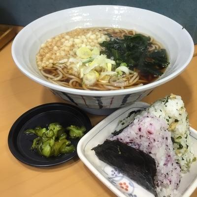 「朝食セット(¥320)」@名代 富士そば 秋葉原店の写真