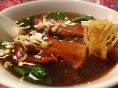 「豚バラ麺(890円)」@福楼の写真