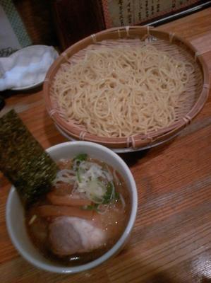 「つけ麺750円」@とんこつらーめん 笑丸の写真