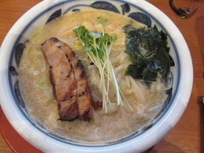 「満開味噌麺 「750円」」@みそらーめん 満開屋 芝東店の写真