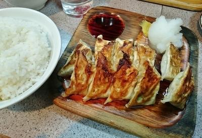 「Aセット(餃子2人前定食) 750円」@コント 浅草本店の写真
