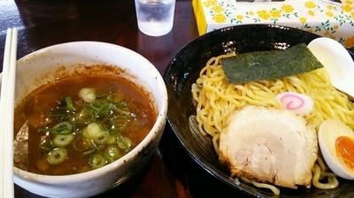 「魚介豚骨醤油つけ麺」@つけ麺や 半兵衛の写真