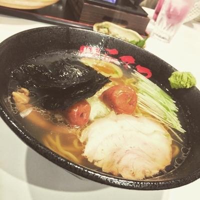 「梅塩わさび」@麺屋 こてつの写真