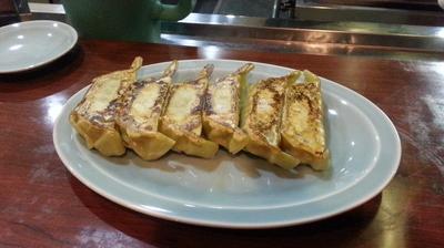 「野菜ぎょうざ+特製味噌ラーメン(太麺野菜)」@満北亭 玉川上水店の写真