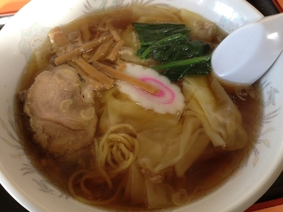 「ワンタンメン」@中華料理 むらこしの写真