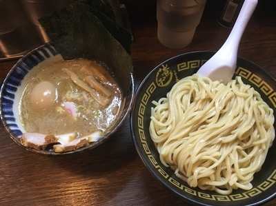 「特製つけ麺中盛り ¥1050」@東京煮干中華そば 三三㐂 大森の写真