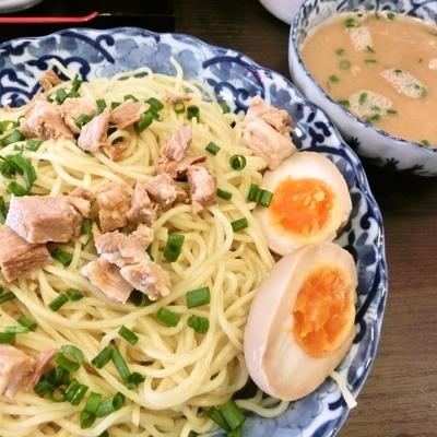 「こくまろつけ麺(500円)」@天理スタミナラーメン 高田馬場店の写真
