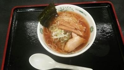 「半ラーメン」@日高屋 新橋栄通店の写真