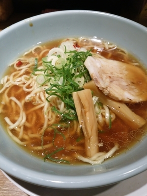 「煮干し野郎800円」@野郎ラーメン 新橋駅前店の写真