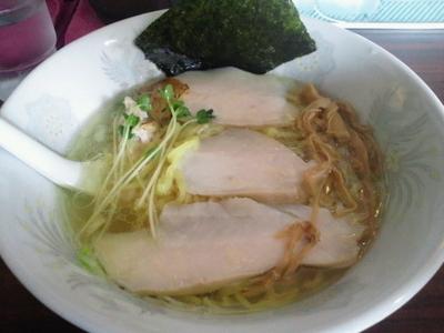 「鶏仙人ラーメンシルバー 700円」@ラーメンげんきだまの写真