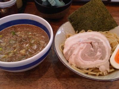 「つけ麺かつお(770円)」@山勝角ふじ無双 南流山店の写真