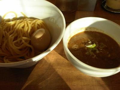 「味玉濃厚ニボつけ麺(850円)」@煮干しそば 虎空の写真