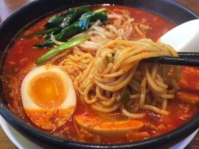 「旨辛麺」@ラーメン 来来亭 東松山店の写真