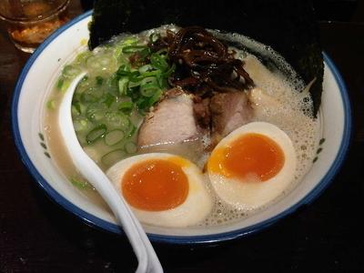 「のりと半熟玉子 太麺 (880円)」@麺の坊 砦の写真