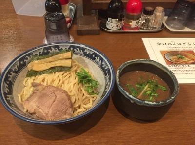 「煮干しつけ麺 中盛」@重厚煮干中華そば 大ふく屋 海浜幕張店の写真