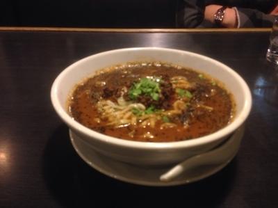「黒胡麻担々麺」@三珍 富士力食堂 さいたま三橋の写真