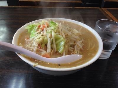 「野菜そば(大盛り)750円+100円」@中華料理 ポパイの写真