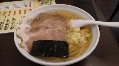 「塩チャーシュー麺」@地鶏らーめん しぶ家の写真