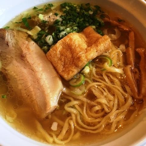 「あっさり魚出汁(塩)」@はりけんラーメンの写真