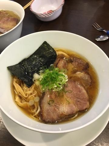「中華そば」@TSURUMEN 大阪城北詰店の写真