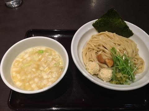 「【限定】鶏と帆立の濃厚つけ麺」@中華そば 飯村製作所の写真