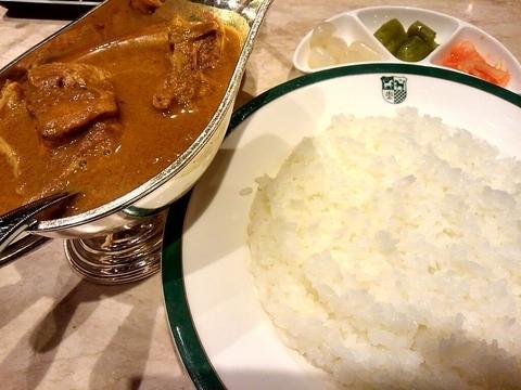 「中村屋純印度式カリー 1500円+税」@Mannaの写真